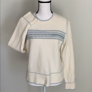 {Columbia} Stretchy Wool Sweater